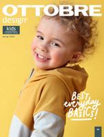 Ottobre design: Kids fashion 62-170cm, kevät 1/2021