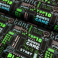 Digitrikoo: Play, musta - vihreä