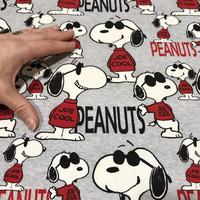 Snoopy trikoo: Snoopy as Joe Cool, meleerattu harmaa