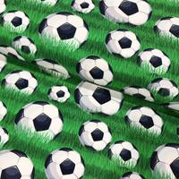 Stenzo, digitrikoo: Jalkapallot nurmella, vihreä