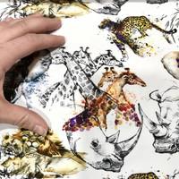 Stenzo, digitrikoo: Villieläimet, valkoinen