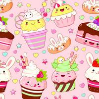 Digitrikoo: Muffinssit, vaaleanpunainen