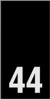 Kokomerkki - 44 - 10kpl