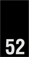 Kokomerkki - 52 - 10kpl
