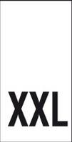 Kokomerkki - XXL - 10kpl