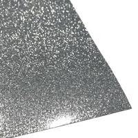 Silityskalvo: Glitteri, hopea (Gem Flex)