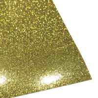 Silityskalvo: Glitteri, kulta (Gem Flex)
