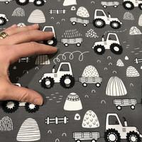 Digitrikoo: Traktorit, harmaa