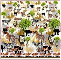 Digitrikoo: Stenzo, Safari -raportti 150 x 150cm