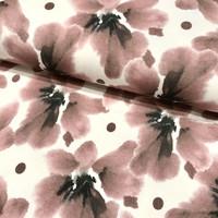 Bambutrikoo: Isot kukat, vanha roosa