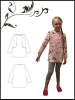 Sala Design: TIUKU lasten tunika 92-146