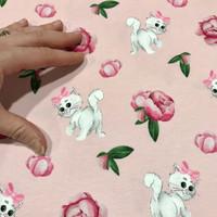 Stenzo, digitrikoo: Kissat ja ruusut, vaaleanpunainen