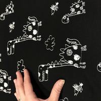 Stenzo, digitrikoo: Piirretyt dinosaurukset, musta