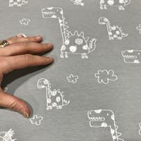 Stenzo, digitrikoo: Piirretyt dinosaurukset, vaaleanharmaa
