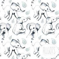 Allgots, luomutrikoo: Robyn elefantti
