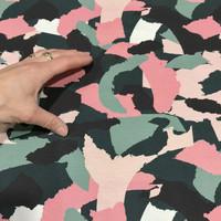 Stenzo, digitrikoo: Camo, vihreä - pinkki - nude