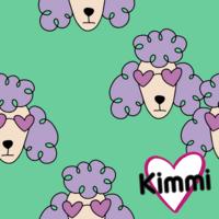 Kimmi, luomupuuvillatrikoo: Poodle, minttu
