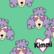 Kimmi, Organic jersey: Poodle, mint
