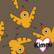 Kimmi, luomupuuvillatrikoo: Birdie, ruskea