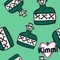 Kimmi, luomupuuvillatrikoo: Poison, minttu