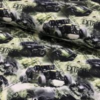 Digitrikoo: Extrame cars, harmaa - vihreä