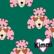 Kimmi, Organic jersey: poodle, green