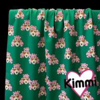 Kimmi, luomupuuvillatrikoo: Poodle, vihreä