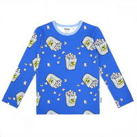 Pitkähihainen paita: Popcorn, sininen