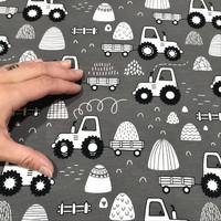 Digijoustocollege: Traktorit, harmaa