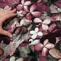 Digitrikoo: Lehdet, kanerva - viininpunainen