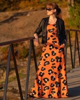 Kimmi, luomupuuvillatrikoo: Leo, oranssi