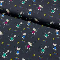 Snoopy trikoo: Snoopy dance, tummansininen