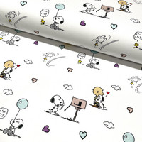 Snoopy trikoo: Snoopy and postbox, valkoinen