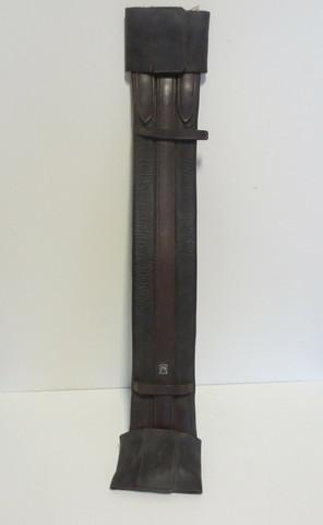 Horze ruskea nahkavyö 60 cm