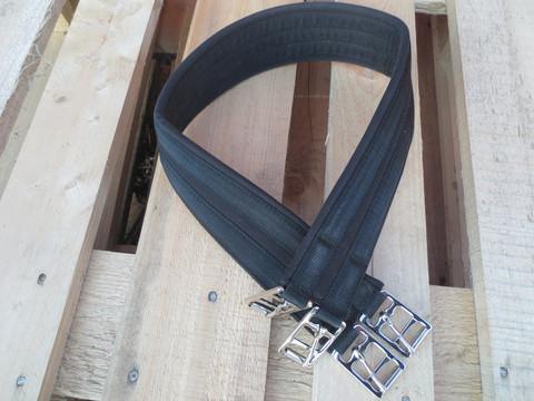 Kankainen, kevyesti topattu satulavyö 97 cm