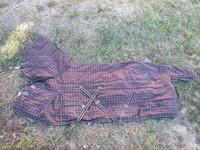 Fullneck ruskearuudullinen sisätoppaloimi 145 cm