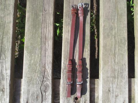 Ruskeat poskiremmit, 31 cm