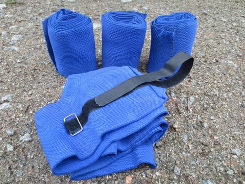 Pirteän siniset Eurohunter joustopintelit 4 kpl