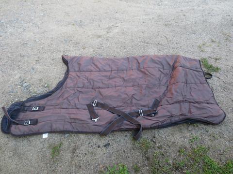 Tummanruskea sisätoppaloimi highneck 125 cm