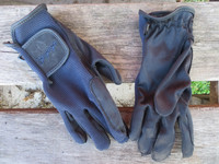 Equipagen sini-mustat ratsastushanskat, koko 4-6