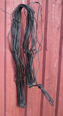 Musta nyloninen heinäverkko