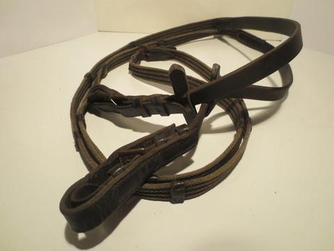 Mustat kangasohjat hevosleikkeihin, EI KÄYTTÖÖN