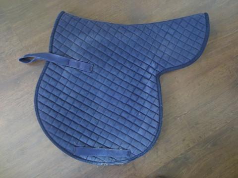 Satulan mallinen satulahuopa, sininen FULL