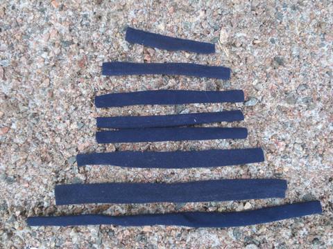 Sininen pehmustesetti riimuun 8 osaa