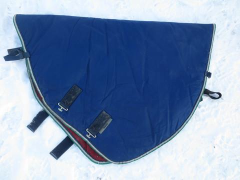 Sininen Bucas Smartex kaulakappale 300g(?) ulkoloimeen 135 cm