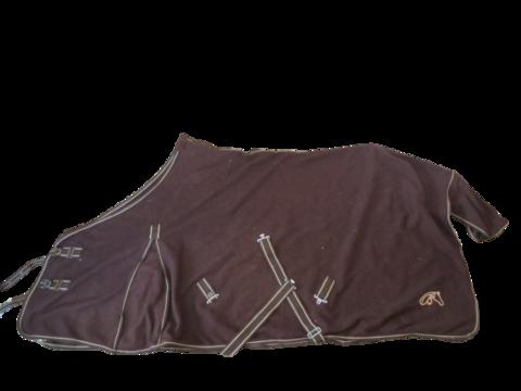 Ruskea fleeceloimi 150 cm