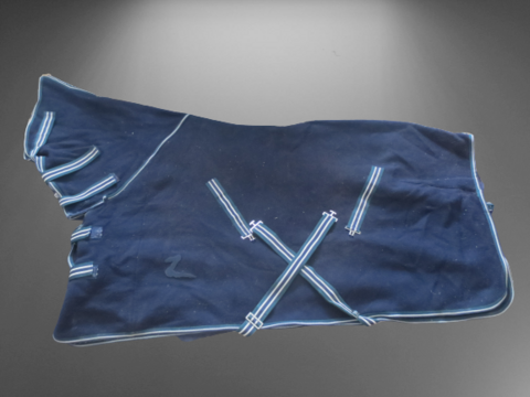 Horze paksu tummansininen fullneck villaloimi 130 cm