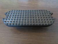 Jalustinkumi musta 1kpl! 10 cm