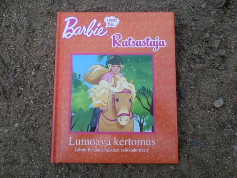 Barbie Ratsastaja lastenkirja