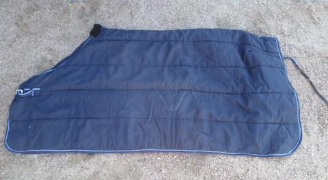 Tummansininen sisätoppaloimi ilman vatsaremmejä 140 cm